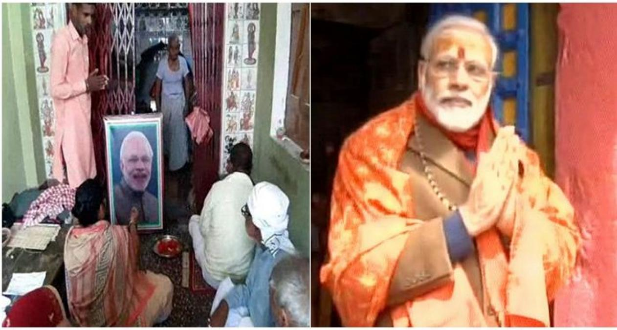 Villagers of this district built a PM Modi's temple, and worship day and night….read detail inside