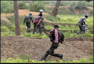 Three Naxalites killed in an encounter, one CRPF personnel also lost his life