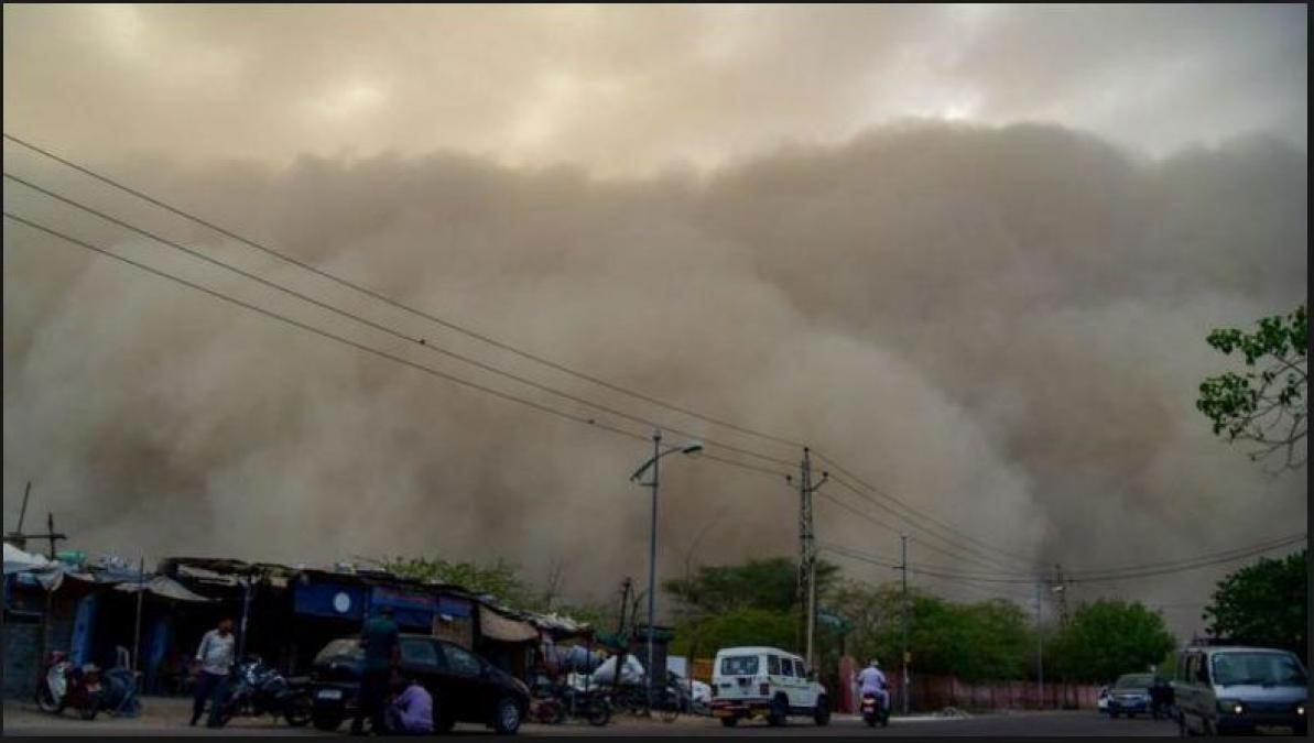Rains in Northern region of India respite from Scorching heat, dust storms predicted