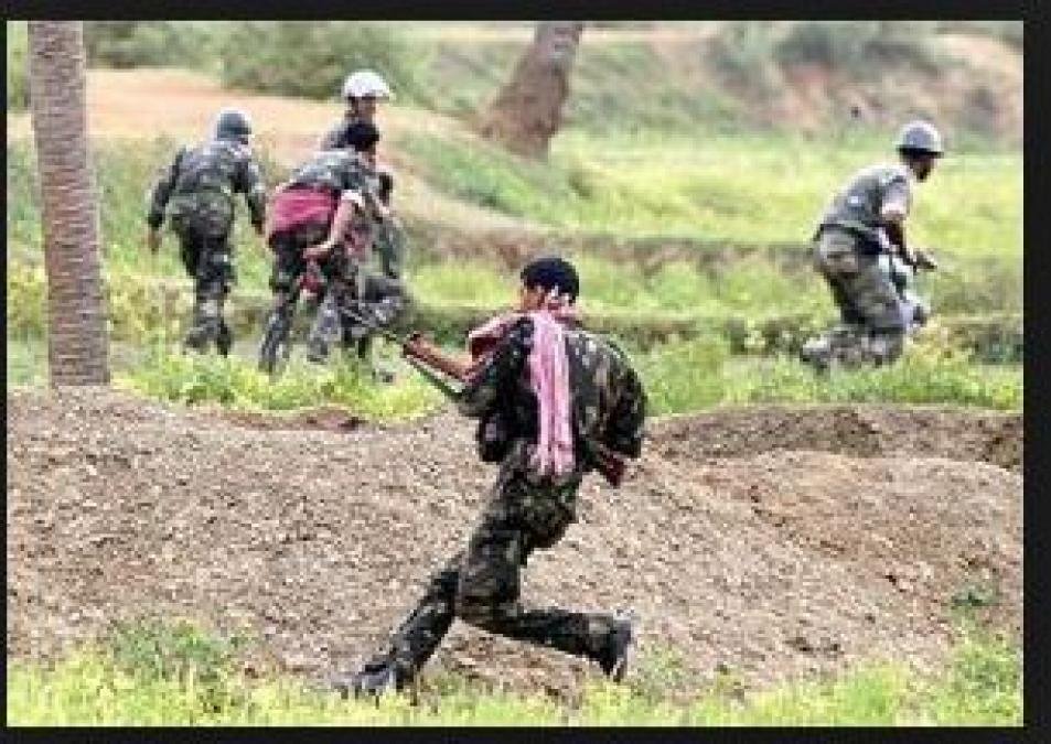 Two Naxals gunned down by DRG in an encounter