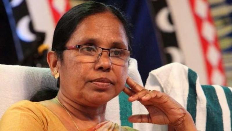 केरल के स्वास्थ्य मंत्री केके शैलजा समेत पूरा परिवार हुआ कोरोना संक्रमित, खुद दी जानकारी