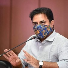Telangana IT and Industries Minister KT Rama Rao also tested positive for corona virus infection