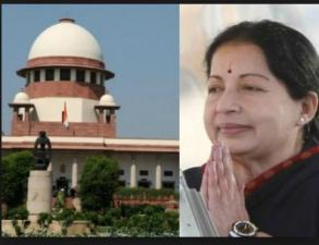 Supreme Court stayed the probing inquiry into AIADMK leader J Jayalalitha