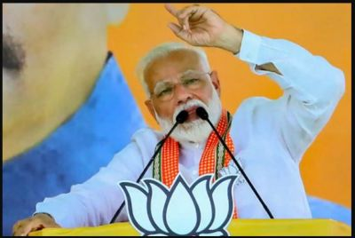 """""""Whoever poses threat to India, will strike them at their home"""" PM Modi in Bihar Muzaffarpur"""