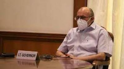 Delhi Lieutenant Governor Anil Baijal infected with corona, isolets himself