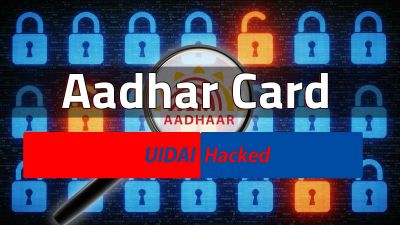 Unknown numbers being saved in mobile by the name of UIDAI, people shocked