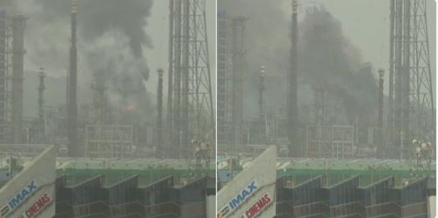 Mumbai: Level- III fire breaks out at Bharat Petroleum Corporation Limited-RMP plant