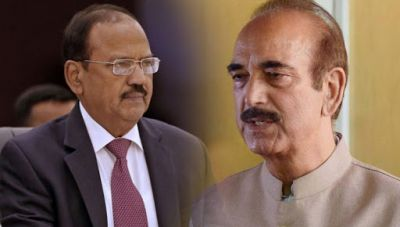 NSA Ajit Doval met the common people in Jammu and Kashmir, Gulam Nabi Azad made these allegations