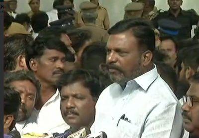 M Karunanidhi dead Live updates:  VCK chief Thirumavalavan demands 'Bharat Ratna' for Karunanidhi