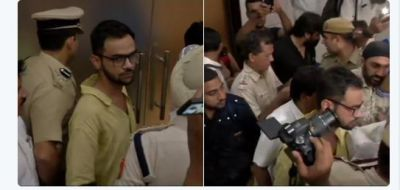 Delhi: An unidentified man opened fire at JNU student leader Umar Khalid