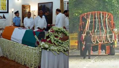 Bharat Ratan Atal Bihari Vajpayee former PM to be laid to rest with full state honours at Smriti Sthal