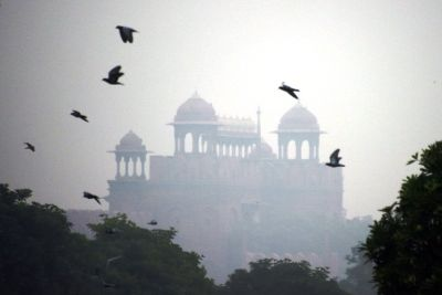 Delhi air Pollution level gone bad to worse.
