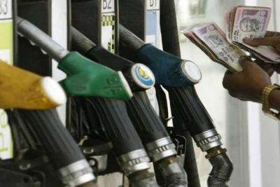 Prices of petrol and diesel falling 12th day, know today's prices