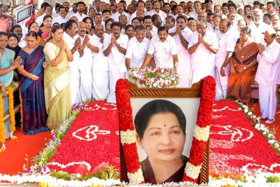 Tamil Nadu CM, among others, pays tribute Jayalalithaa on her 4-death anniversary