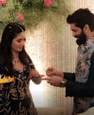 Amit Thackeray get engaged to his long-time girlfriend Mitali Borude