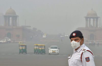 Air quality in Delhi has reached to Danger level today