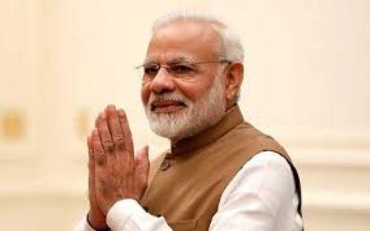 Gujarat :PM Modi inspects