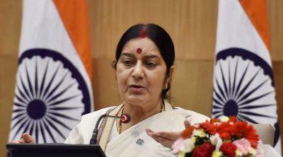 Sushma Swaraj to deliver her speech in Parliament on Jadhav's meeting