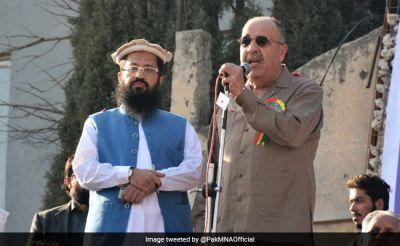 India exhaust over Hafiz Saeed and Palestine's Pakistan envoy shared same platform