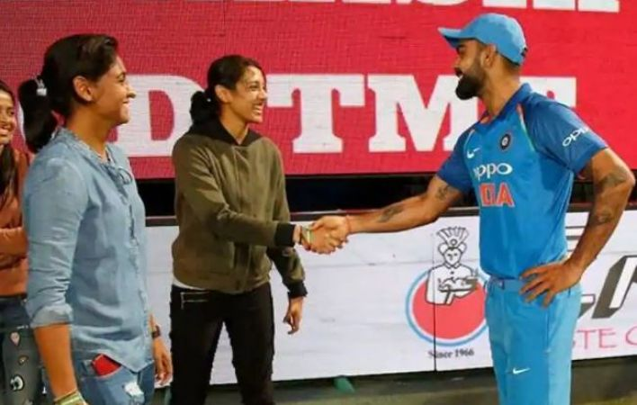 Not Virat Kohli's No. 18 but this cricketer's jersey was the first choice of  Smriti Mandhana