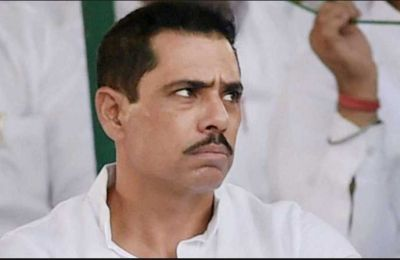 Robert Vadra again need to present before ED today