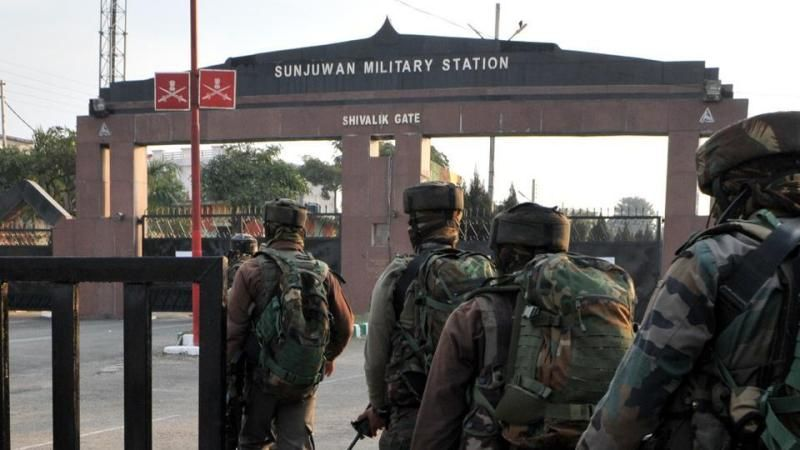 Five soldiers and one citizen dead in Jammu attack
