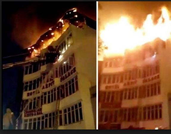 Karol Bagh fire brake out 17 killed including a woman and a child