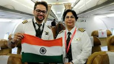 Air India's woman pilot's equanimity prevents a crash