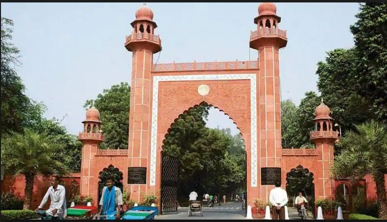 Aligarh Muslim University 12 students booked under sedition charges