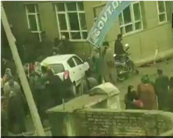 A mysterious blast took place on Jammu & Kashmir Pulwama School