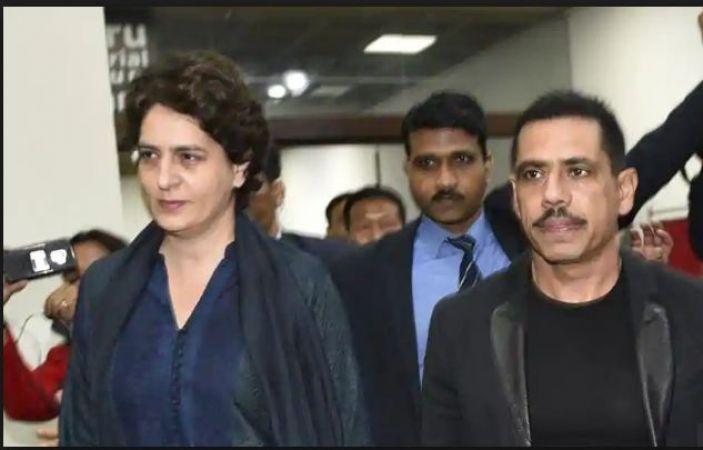 Priyanka Gandhi Vadra gives her First statement on Husband Robert Vadra ED probe