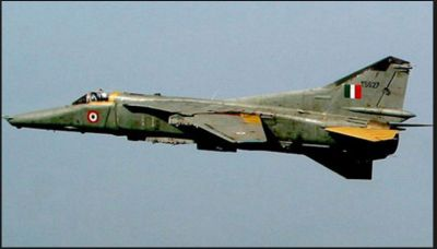 MIG-27 Indian Air Force Fighter Jet crashed near Pokhran