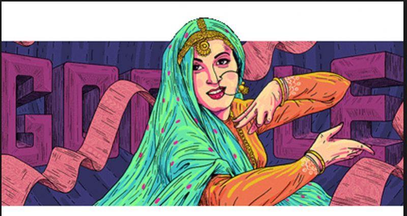 Google Doodle honoured late legendary actress Madhubala on her 86th birth anniversary