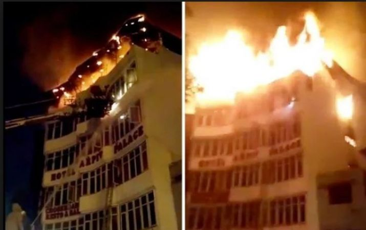 After continuous massive fire report in Hotels, Delhi government cancelled NOC of 30 hotels