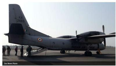 'Unfit' IAF plane carrying CRPF remains mortal plane faces technical Problems