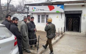 Terrorists attacked J&K bank, absconded with 3 lakh cash