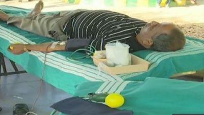 Karnataka's Shivamogga district pay tribute to CRPF martyr by donating blood