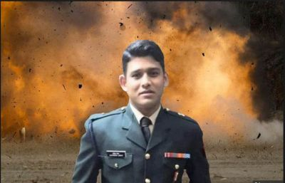 Days after a terror attack on CRPF convoy, One more army officer Martyr in Rajouri District