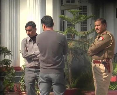 Watch: Latest visuals from Rotomac Pens owner Vikram Kothari residence as CBI raid is underway.