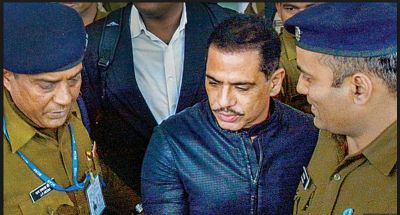 After skipping the summons, Robert Vadra present before ED today to face questioning