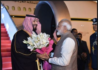 By breaking protocol, PM Modi Welcomed Saudi Crown Prince at Delhi Airport, a wide range of issues will be discuss