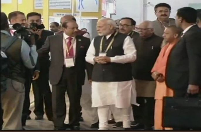UP Investors Summit 2018.: Solar project 300 acres of land with an investment  Rs 1,200 crore introduced