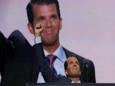 Trump Jr. acclaims 'smiling'  of 'poorest of the poor people' of India