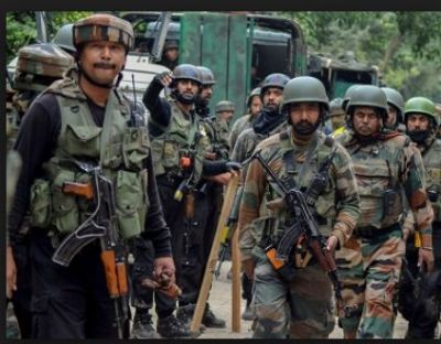 An encounter broke out between the security forces and terrorist in Sopore, Internet services suspended