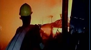 Fire broke out in a factory, six people died