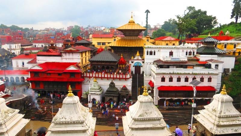 काठमांडू: क्षमा पूजा के लिए काठमांडू में 25 भारतीय पुजारी हुए शामिल