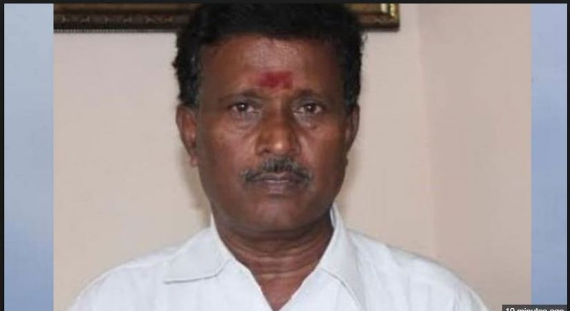AIADMK leader and MP S Rajendran died in fatal car accident