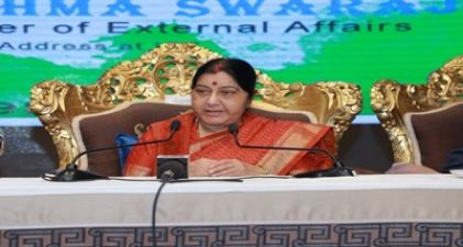 EAM Sushma Swaraj will address the inaugural session of OIC meet in Abu Dhabi next month