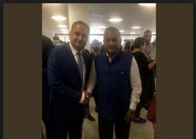 Pakistan MP Rajesh Kumar Vankwani attend Kumbh Mela 2019, amid boycott Pakistan call