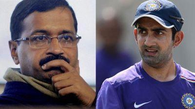 Former cricketer Gautam Gambhir slams Delhi CM Arvind Kejriwal for his latest dharna announcement
